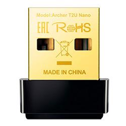 Adaptador Tplink Usb A Wifi 600 Mbps Nano Ac Dual Band