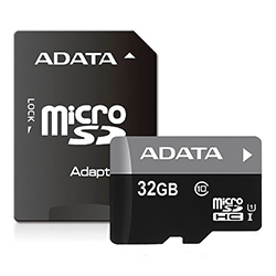 Memoria Micro Sd Adata 32Gb C/A Clase 10