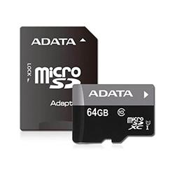 Memoria Micro Sd Adata 64 Gb Clase 10