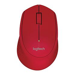 Mouse Logitech Inalambrico M280 2.4Ghz Usb Rojo