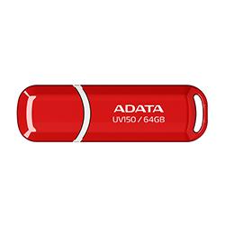 Pendrive Adata 64 Gb Auv150 - Rojo