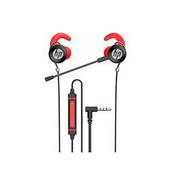 Audifono + Microfono Hp In Ear Conector 3.5Mm Rojo
