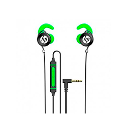 Audifono + Microfono Hp In Ear Conector 3.5Mm Verde