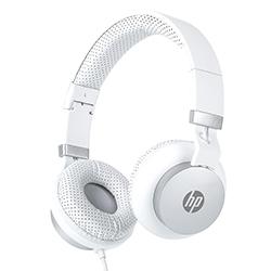 Audifono + Microfono Hp On Ear Conector 3.5Mm Blanco