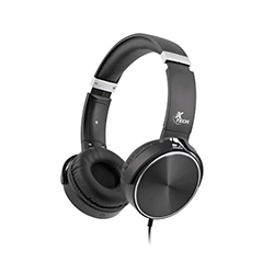Audifono + Microfono Spiral Xtech On Ear 3.5Mm / Negro