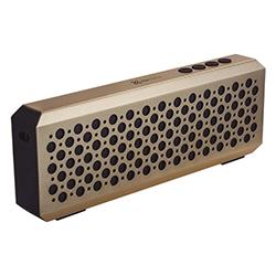 Parlante Inalambrico Klip Xtreme Bluetooth 6W - Micro Sd - Dorado