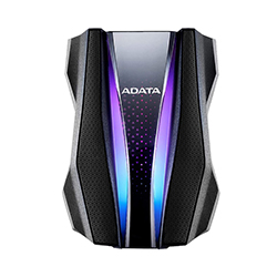Disco Duro Ext 2.5 Adata 1Tb 3.2 Ah770G Anti-Golpe Negro Rgb