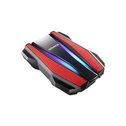 Disco Duro Ext 2.5 Adata 2Tb 3.0 Ah710 Anti-Golpe Rojo Rgb