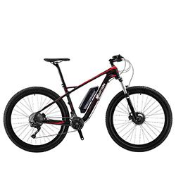 Bicicleta Electrica De Montaña Roja Wattson Motor 36V 350W Bateria 10.4Ah, Velocidad 25Km/H