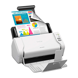Scanner Brother Ads2200 35 Ppm/ Duplex 48 Ppm Adf 50 Pags. Ciclo Diario 3.000 Pags
