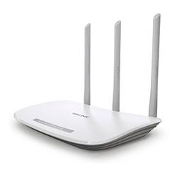 Router Tplink 300 Mbps 3 Antenas 5 DBi 4 Puertos Lan