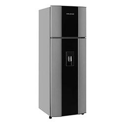 Refrigeradora  CR312 No Frost Gris con Acrilico Challenger