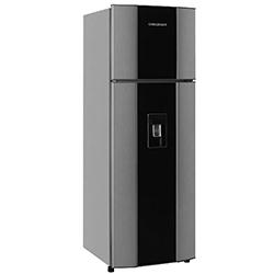 Refrigeradora de 270 Litros CR372 No Frost Gris con Acrilico Challenger
