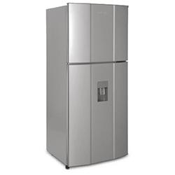 Refrigeradora de 370 Litros CR428 No Frost Gris sin Acrilico Challenger