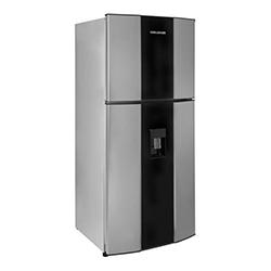 Refrigeradora de 370 Litros  CR428 No Frost Gris con Acrílico Challenger