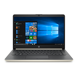 LAPTOP HP 14-DK1002LA AMD ATHLON SILVER 3050U/8GB RAM/ 256GB SSD/ 14 PULG HD/WIN10/COLO
