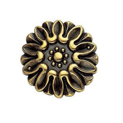 Herraje Decorativo Medalla Diámetro 28 mm