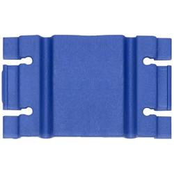 Retenedores de Cable color Azul, material plástico