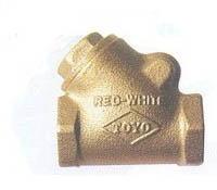 Válvula Horizontal Y Tipo R&W Toyo