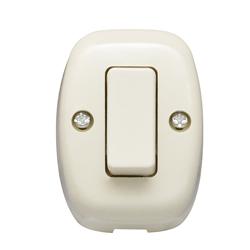 Interruptor Sobrepuesto Tipo Ticino