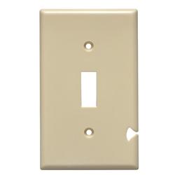 Interruptor Placa Plástica 1 Servicio