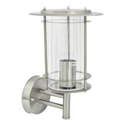 Farol con Detector Aluminio y Cristal