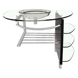 Mueble Con Toallero De Acero Inoxidable, Repisas y Lavamano 100x56cm