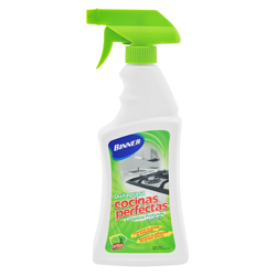 Spray Quita Grasa Cocinas Perfectas Binner