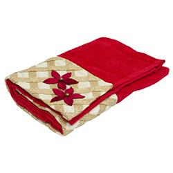 Toalla Santa Is Here Rojo Oro 40x70cm