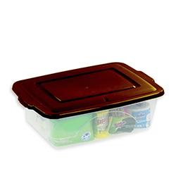 Organizador Box con Tapa Bronce Plapasa