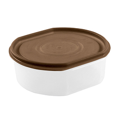 Repostero Ovalware # 3 Taupe