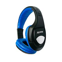 Audifono + Microfono Alambrico Rippa On Ear Azul 3.5mm