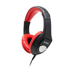 Audifono + Microfono Alambrico Rippa On Ear Rojo 3.5mm