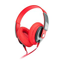 Audífono + Micrófono Klip 40mm On Ear 1 Conector 3.5 Rojo Xtreme