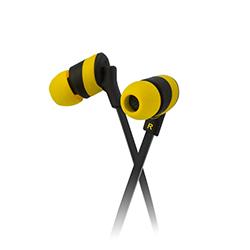 Audifono Klip In Ear Amarillo Xtreme