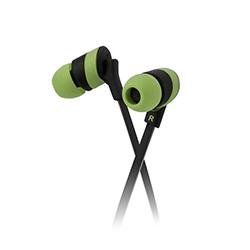 Audifono Klip In Ear Verde Xtreme
