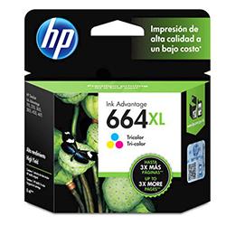 Cartucho 664XL Color 8.0ml 1115/2135/3635/3835/4535/4675