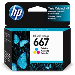 Cartucho 667 Color HP2375 HP2775