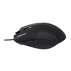 Mouse Gamer Xfire  6D Alambrico Usb - Luces Led - Negro Xtratech