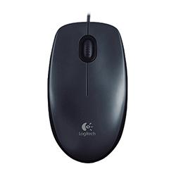 Mouse  Alambrico M100 Usb Ambidiestro Gris/Negro Logitech