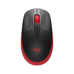 Mouse  Inalambrico M190 2.4Ghz Usb Rojo Logitech