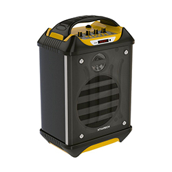 Parlante Bluetooth Recargable - 45W / Usb - Micro Sd/Radio/ 2 Microfonos Inalambricos / Ama Xtratech