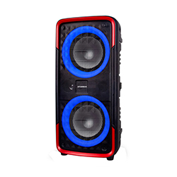 Parlante Bluetooth Recargable  40W / Ubs /Tf / Luces Led /Aux /1 Micrófono Inalámbrico Xtratech