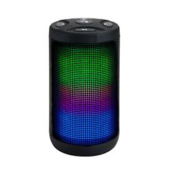 Parlante Inalambrico Minikromatik Klip  Bluetooth USB - Luces Led - Resistente al Agua Xtreme