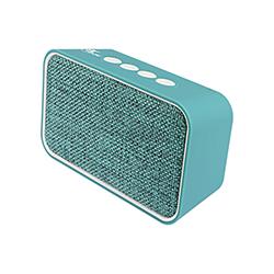 Parlante Portatil Bluetooth 6W Usb - Tarjeta Sd 3.5Mm - Hasta 20 Hrs Repr - Turquesa  Xtech
