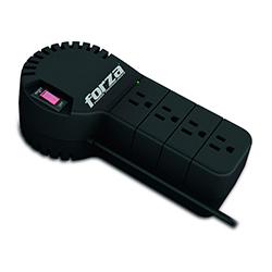 Regulador de Voltaje Forza 1000VA 500W 4 Tomas 110V