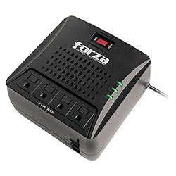 Regulador de Voltaje Forza 3000Va 1500W 4 Salidas 110V