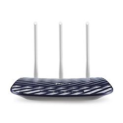 Router  Ac 750Mbps Dual Band 3 Antenas 4 Puertos Lan 10/100 Tplink