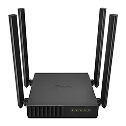 Router Wifi 1200 Mbps Doble Banda 4 LAN 4 Antenas TPLINK