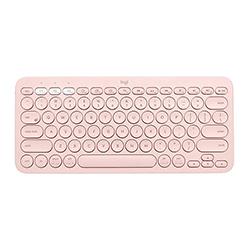 Teclado  K380 Inalambrico Usb/Bluetooth/Multidispositivo / Rose Logitech